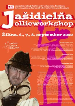 Žilina, 6., 7., 8. september 2010