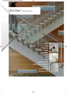 Ultra číre sklo ® nízky obsah železa (pdf)
