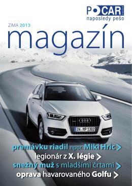 Magazín PO CAR - Zima 2013