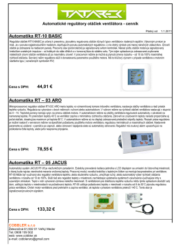 Automatika RT-10 BASIC 44,01 € Automatika RT – 03