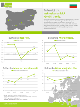 Bulgaria`s macroeconomic development
