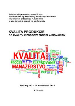 Konferencia 2013 Pozvanka Matus