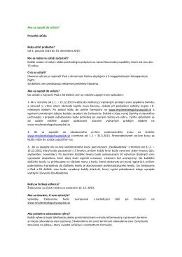 Pravidlá súťaže - myslietekologickysaoplati.sk