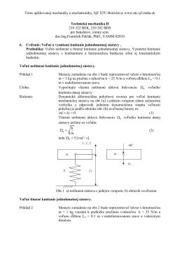Ústav aplikovanej mechaniky a mechatroniky, SjF STU