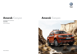 Amarok Canyon Amarok Canyon - auto pre biznis užitočné