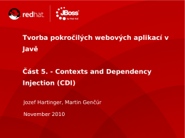 Contexts and Dependency Injection