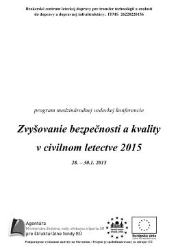 Program medzinárodnej konferencie