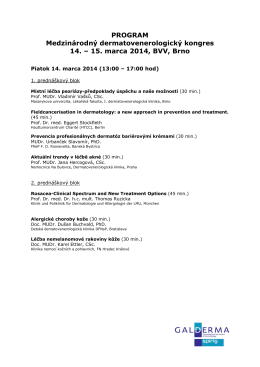 15. marca 2014, BVV, Brno