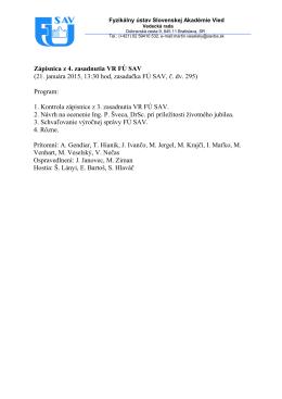 Zápis zo 4. zasadnutia PDF