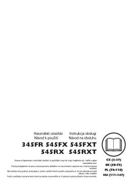 OM, 345FR, 545FX, 545FXT, 545RX, 545RXT, 2012-08