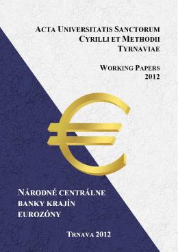 Národné centrálne banky krajín eurozóny