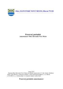 dokument formátu pdf - Obec Slovenske Nove Mesto