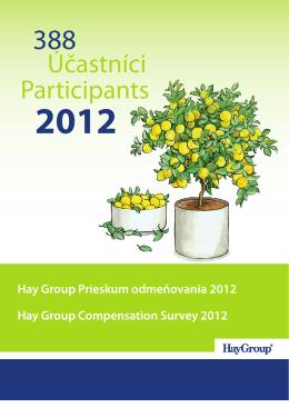 Účastníci Participants