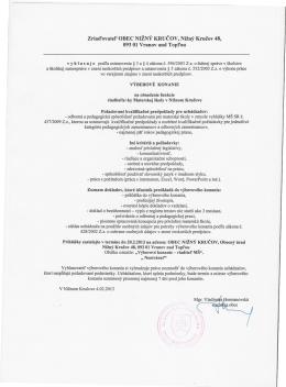 Zriad`ovatel` OBEC NIžNÝ KRUCOV, Nižný Krucov 48, 09301