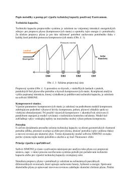Metodika výpočtu technickej kapacity