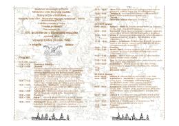 XVI. arch XVI. archívne dni v Slovenskej republike vne dni v