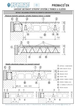 - Riešenie bežného spôsobu začiatku kladenia trámov a