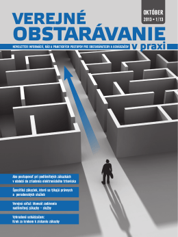 OBSTARÁVANIE - Forum Media SK Forum media