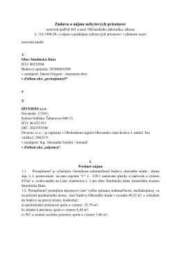 Z20140401 - Smolnícka Huta