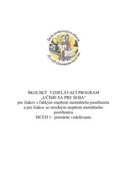 Školský vzdelávací program MP (pdf, 438 kB)