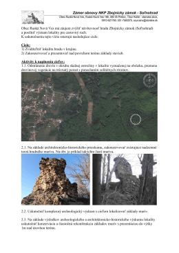 Obec Podhradík má záujem zvýšiť návštevnosť hradu Šebeš a