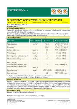 Slovinyl KV-173-sk-02-2012