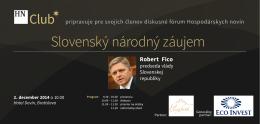 Slovenský národný záujem