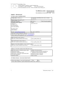 Kvalifikačný systém pre potrubia z uhlíkovej ocele s