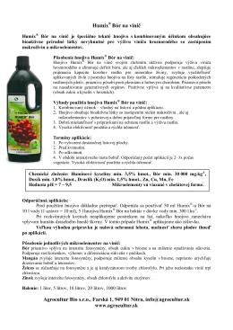 Leták Humix ® Bór na vinič na stiahnutie tu!
