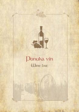 Ponuka vín - Hotel Sobota
