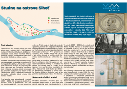 Studne na ostrove Sihoť