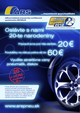20 € 60 € - Arspneu.sk