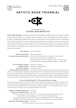 ARTISTS΄ BOOK TRIENNIAL