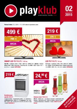 499 € - www.playklub.sk