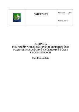 Smernica pre používanie služobných automobilov OcÚ konečná…