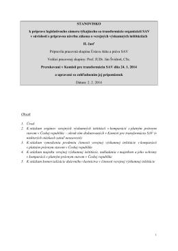 pracovná skupina Ústavu štátu a práva SAV