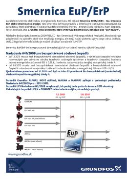 Smernica EuP/ErP