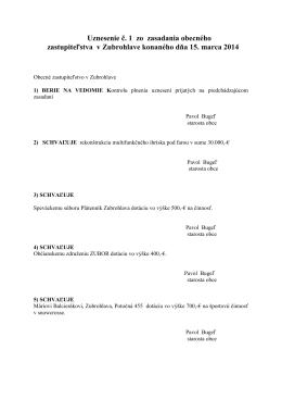 Zápisnica zo dňa 14.03.2014 (292 kb pdf)