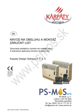 Karpaty Design Optimus - PS