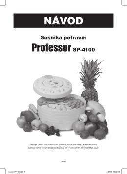 NÁVOD ProfessorSP-4100