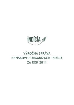Výročná správa za rok 2011