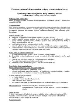 COMBAT INS [pdf] - Centrum výcviku Lešť