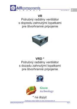 Ventilátory - Thermoline