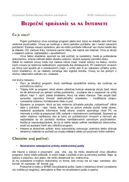 učebný text - Gymnázium Štefana Moysesa MOLDAVA NAD BODVOU