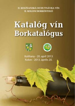 Katalóg vín