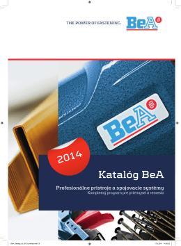 Hlavný katalóg BeA 2014
