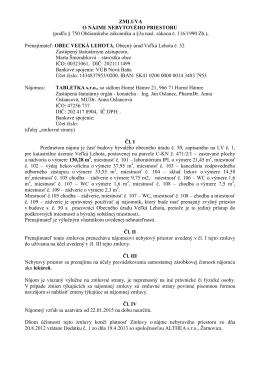 Zmluva pdf - Obec Veľká Lehota