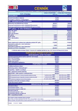 Cenník IVF.pdf - GYN