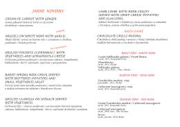 Jarné menu 2014 - kópia