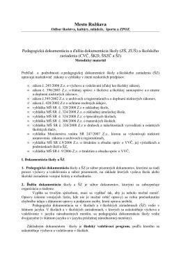 dokument - Rožňava